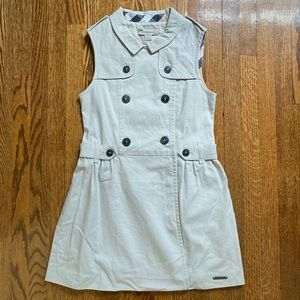 Burberry Girl Trench Dress size: 6